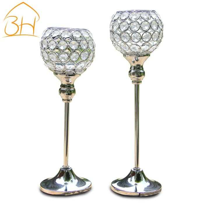 Wedding DecorationHome Decor Candle Holders Crystal