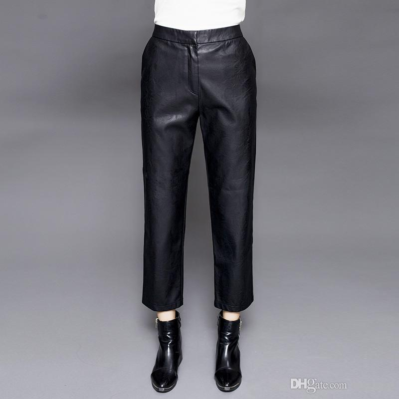Popular  Leather Leggings SMP011in Pants Amp Capris From Women39s Clothing
