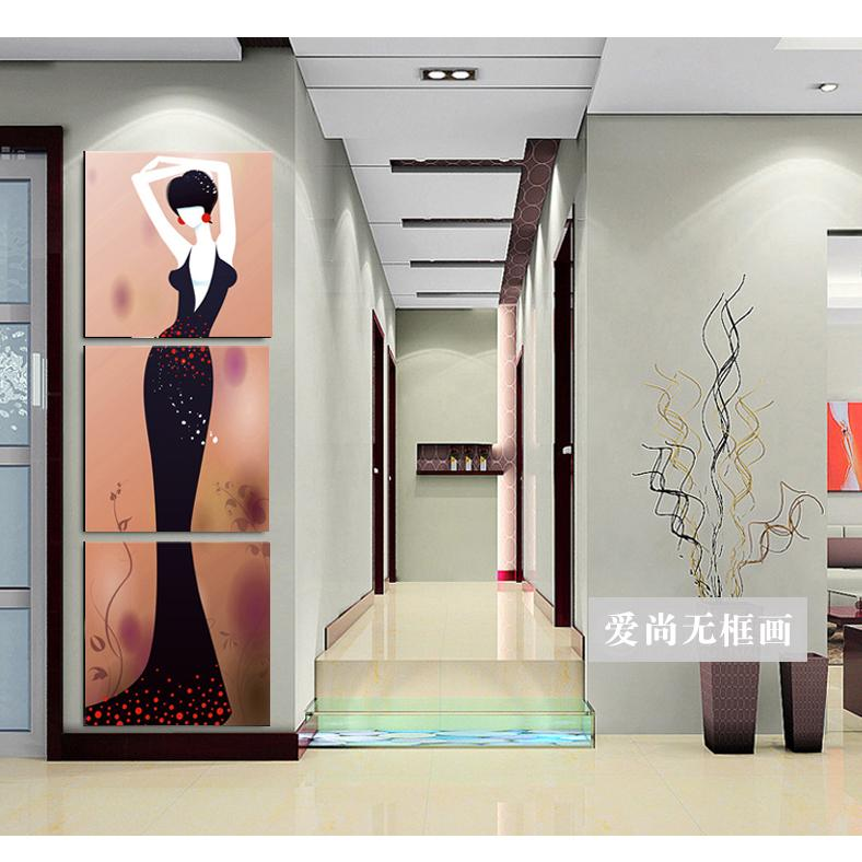 Abstract beauty beauty salon paintings modern decorative for Abstract beauty salon