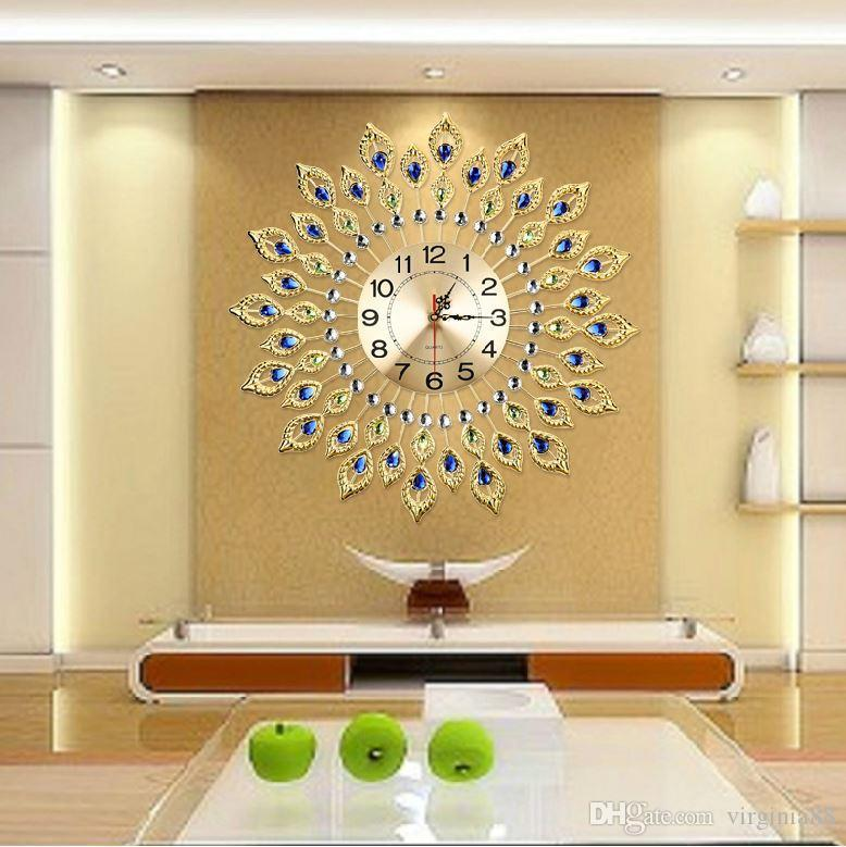 Luxury Wall Clock Fashion Watches Living Room Simple Large