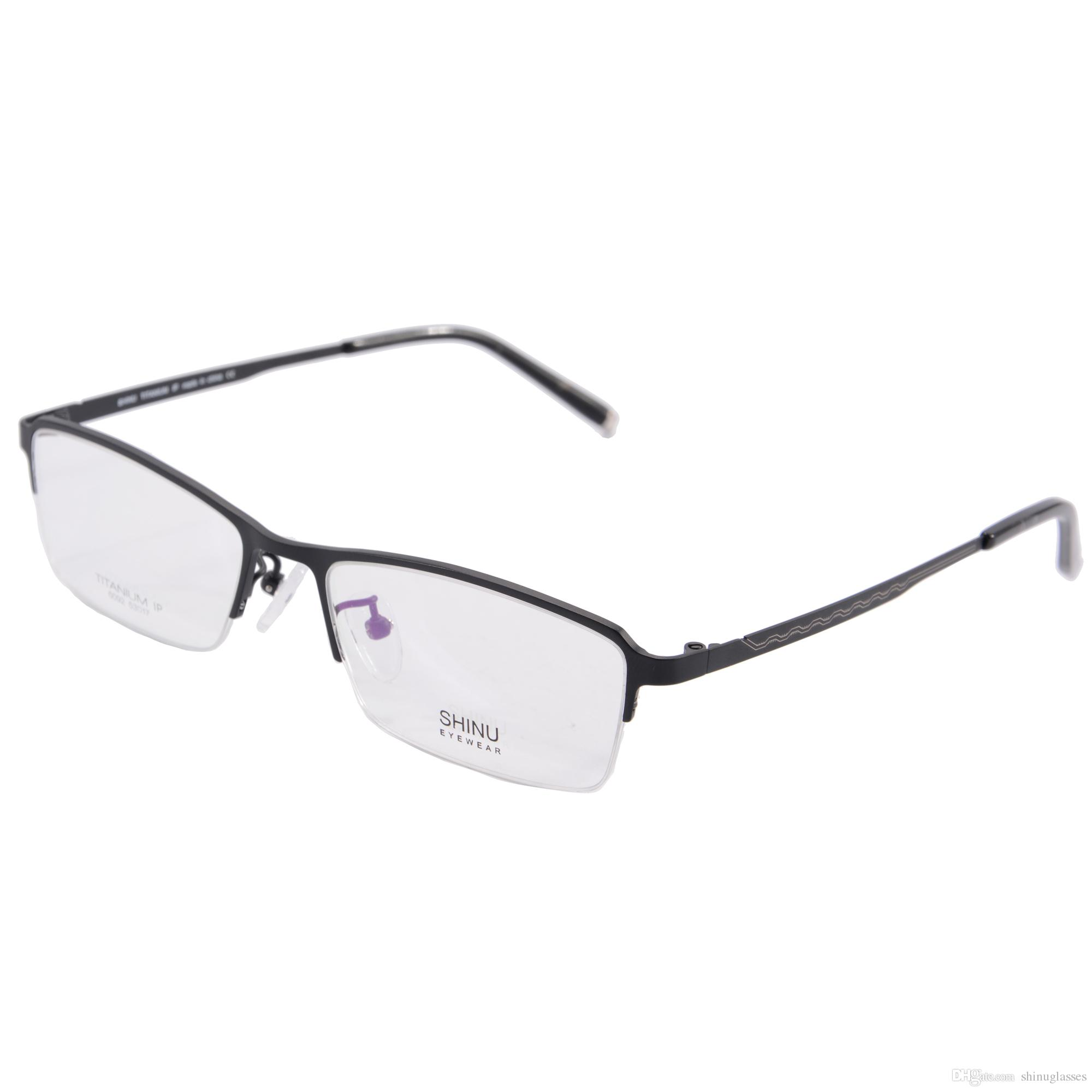 Eyeglass Frame Manufacturers United States : Shinu Titanium Glasses Frame Optical Prescription ...