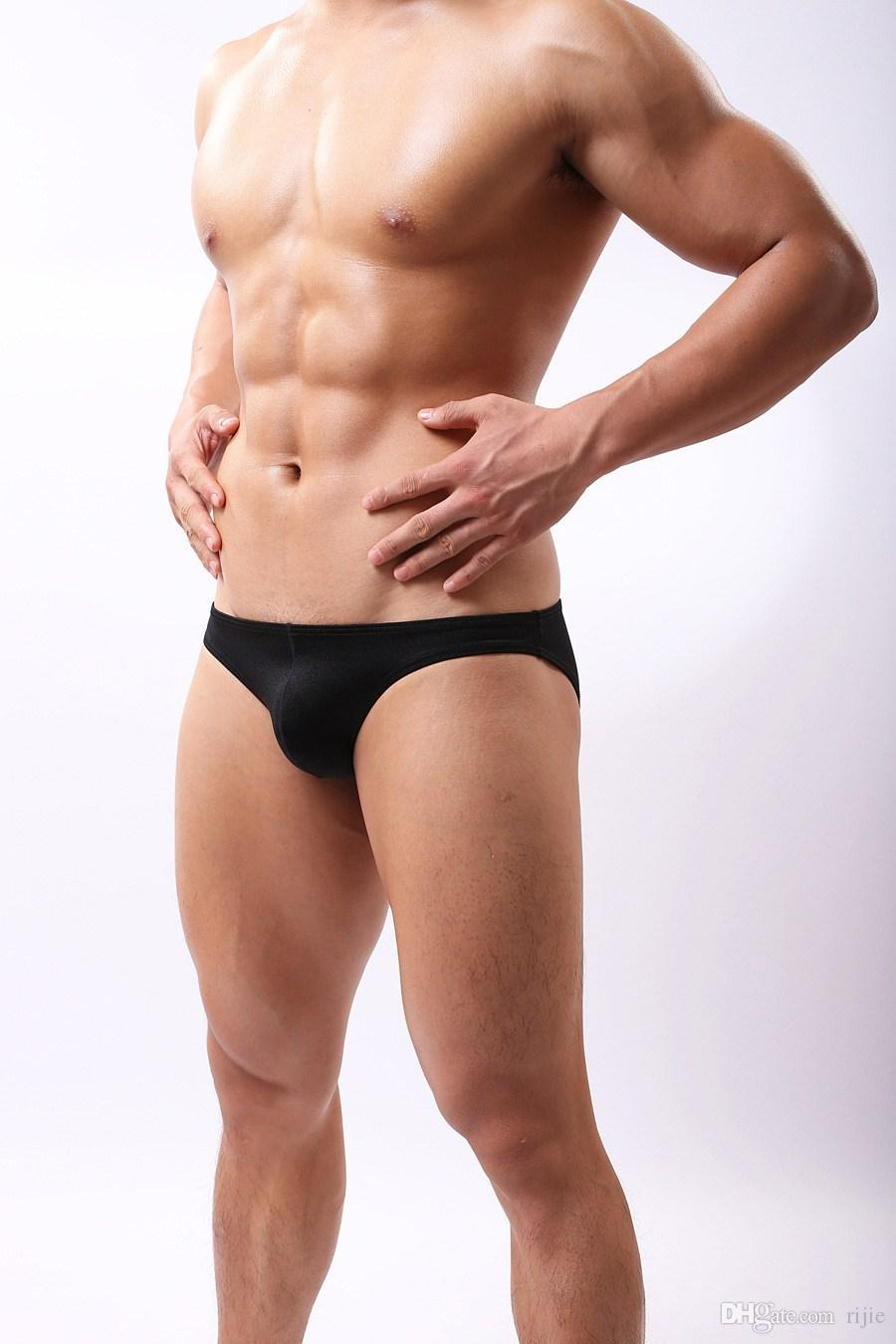 Men's Sexy Mini Boxer Briefs Underwear Comfy Enhance Bulge Pouch ...