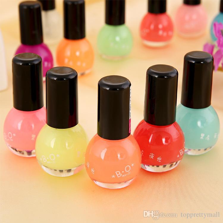 luminous nail polish gel nail polish bo metallic nail polish candy sweet color nail polishes pink red mini nail polishes 8ml cracked nail polish buy nail - Buy Candy By Color