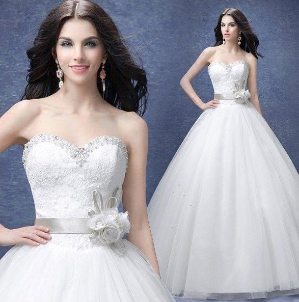 Luxury diamond bra princess bride wedding dress slim for Bra under wedding dress
