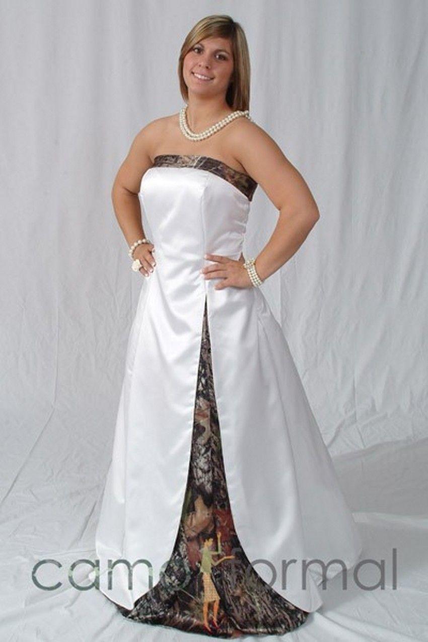Camouflage Wedding Dresses Plus Size | Saddha