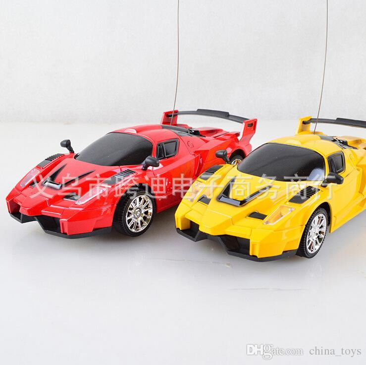 brand new remote control cars kids toys rc super race car model red and yellow wholesale