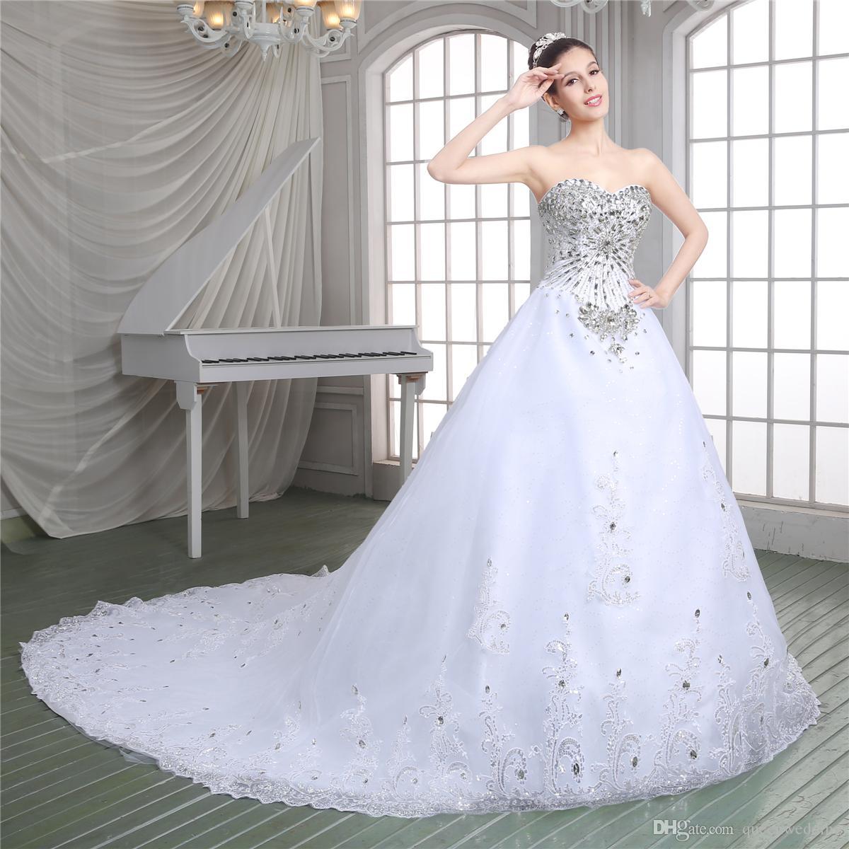 Vestidos de boda de lujo