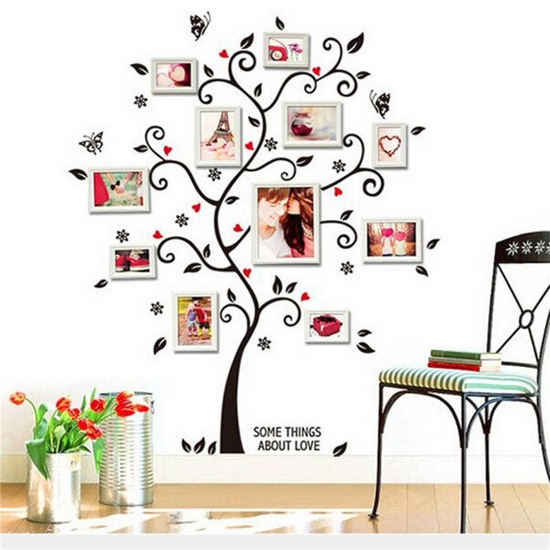 Memory Family Tree DIY Wall Art Home Decor Stickers For Living Room  Removable 3D Wall Sticker Wall Art Memory Tree DIY Sticker Online With  $5.12/Piece On ... Part 38