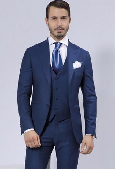 2015 Business Casual Suits Men'S Two Piece Terno Masculino Men ...