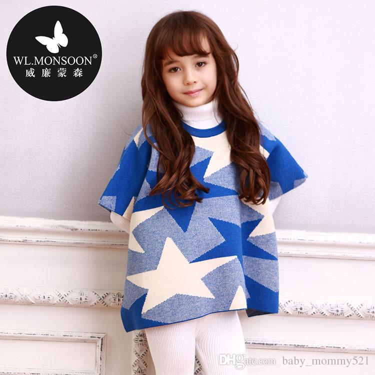 Wl Monsoon Knitted Coat Autumn And Winter Cotton Mantle ...