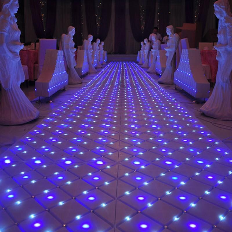 Luxury Fantasy Crystal Wedding Mirror Carpet Aisle Runner