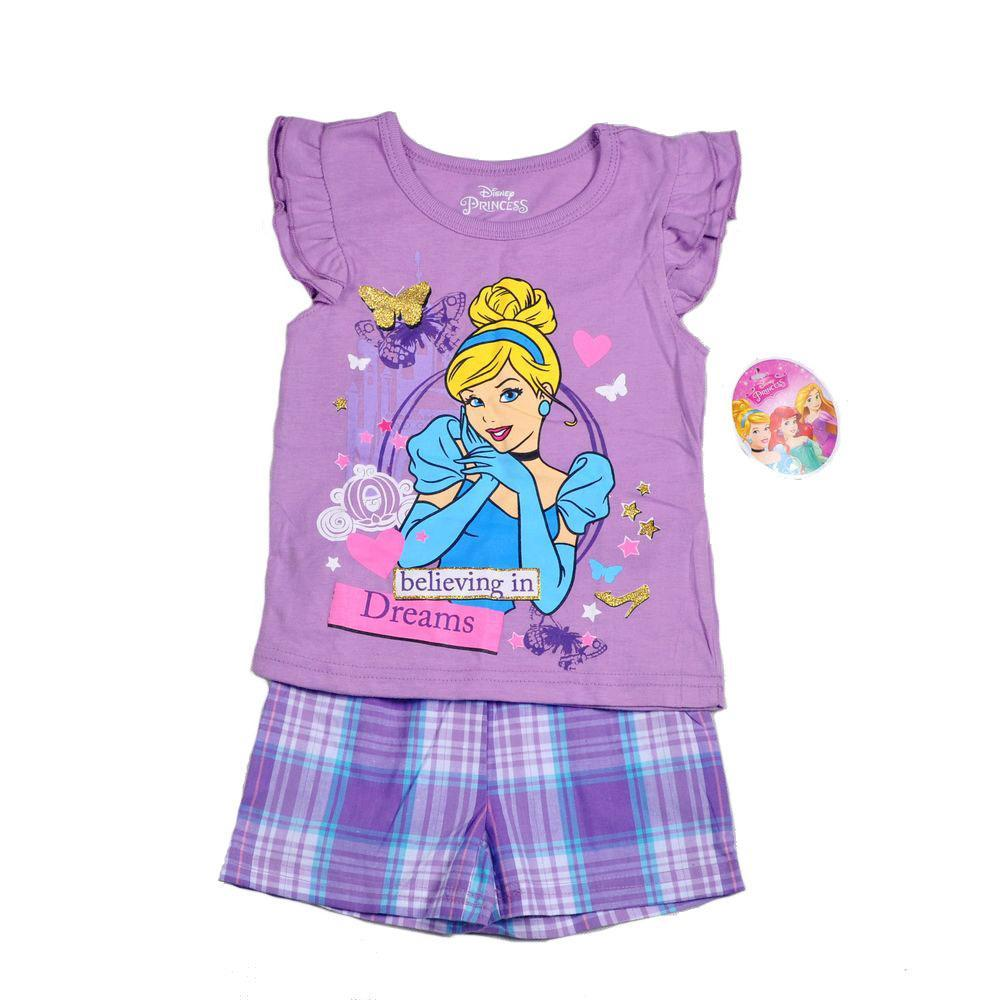 Shirt design for baby girl - 2017 2015 Cinderella Kids Girls Summer Baby Girl Suits T Shirt Shorts Top T Shirt And Lattice Shorts Outfits Kids Clothing Suits From Fashion_house
