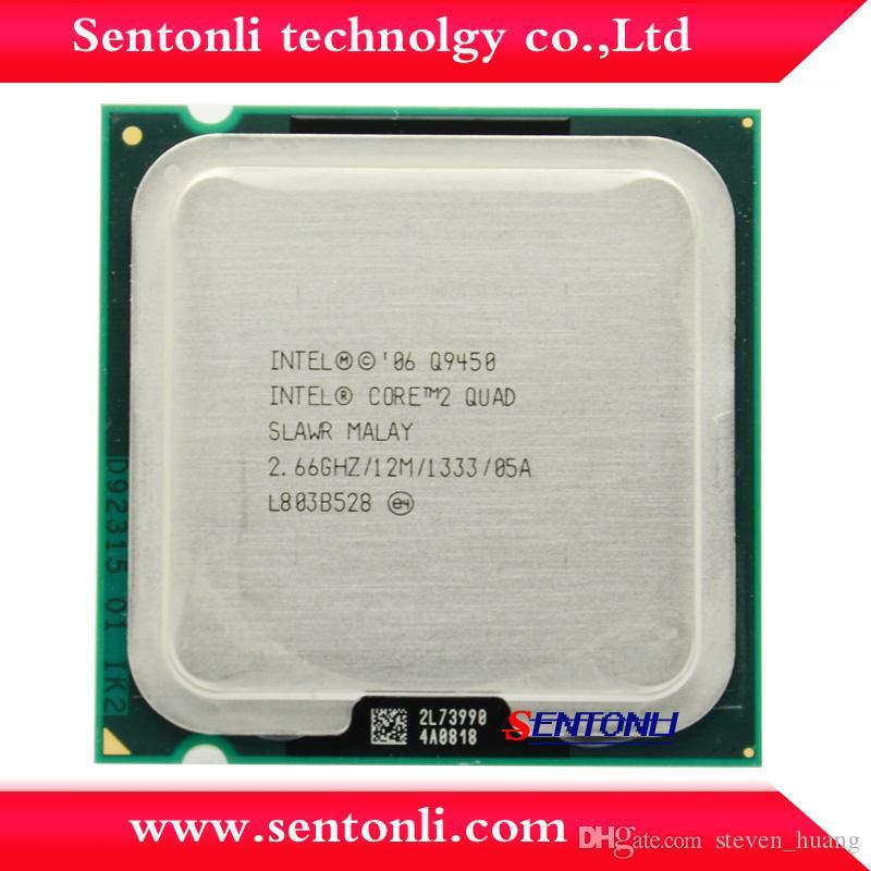Q9450 Original Desktop Cpu Intel Core 2 Quad Q9450 12m Cache 2.66 ...