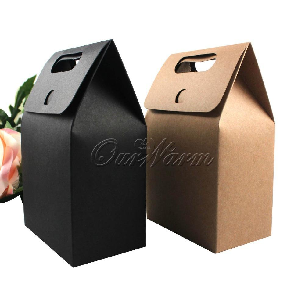 Online Cheap Kraft Paper Box With Handle Soap Biscuits