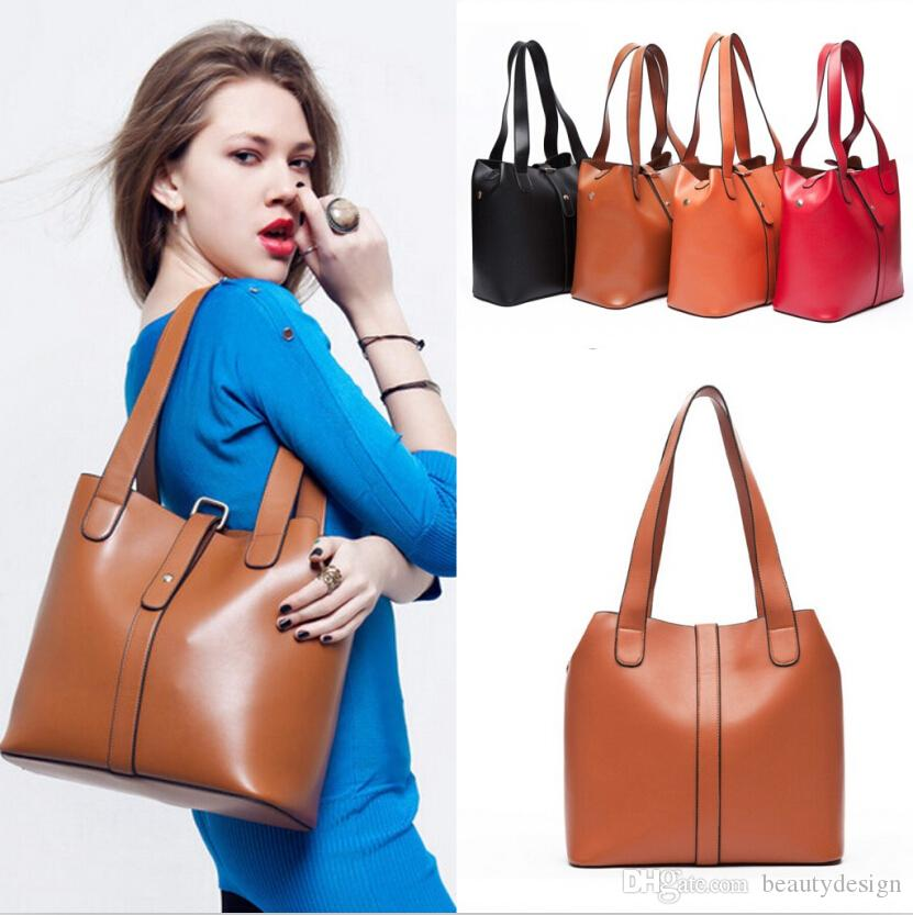 ... Handbag bags Purses PU Leather fashion Shoulder Bags Retro Handbag bag