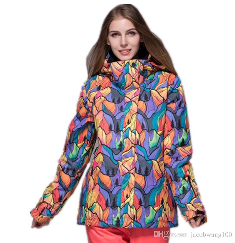 2017 Women Ski Jacket Snowboard Jacket Snow Clothing Waterproof