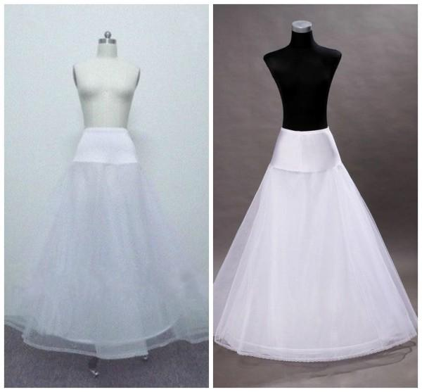 One Hoop A Line Petticoat Dresses White Petticoat For A Line Wedding Dresses P007 Petticoat Slip