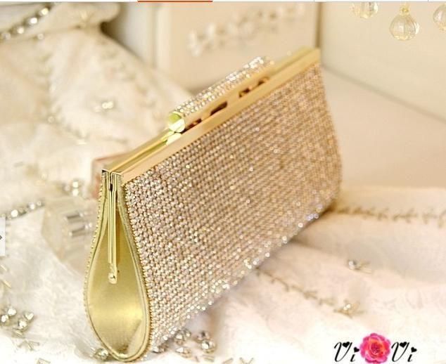 white chloe handbag - Vintage Wedding Bridal Handbags Party Ladies Crystal Rhinestone ...