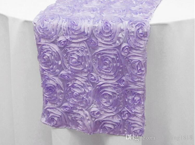 3D Rose Flower Table Runner Custom Any Colour For Wedding Table Decoration  Wedding Decorations Shipping Free Wedding Decorations Wedding Table  Decoration ...