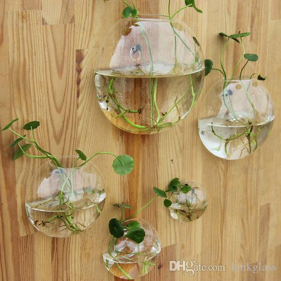 Glass air plant terrarium wall bubble terrarium fighting - Vase decoration interieur ...