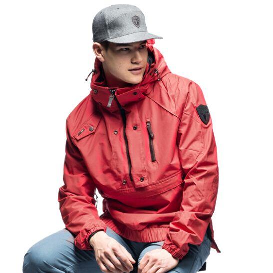 2015 Nobis Men Jacket The Anorak Jacket Polyurethane Coated Shirt ...