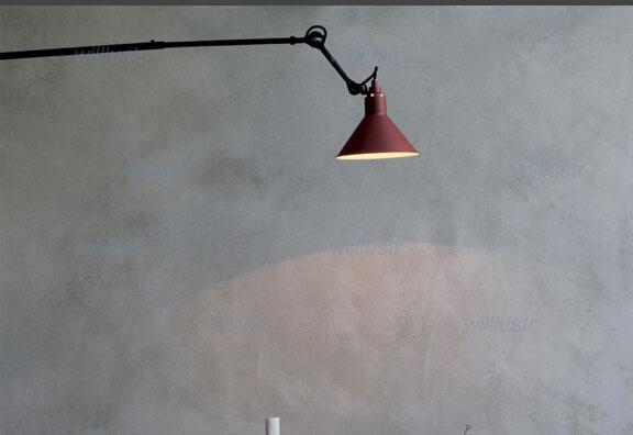 bernard albin gras wall lamp study room wall light design studio workshop wall lighting living