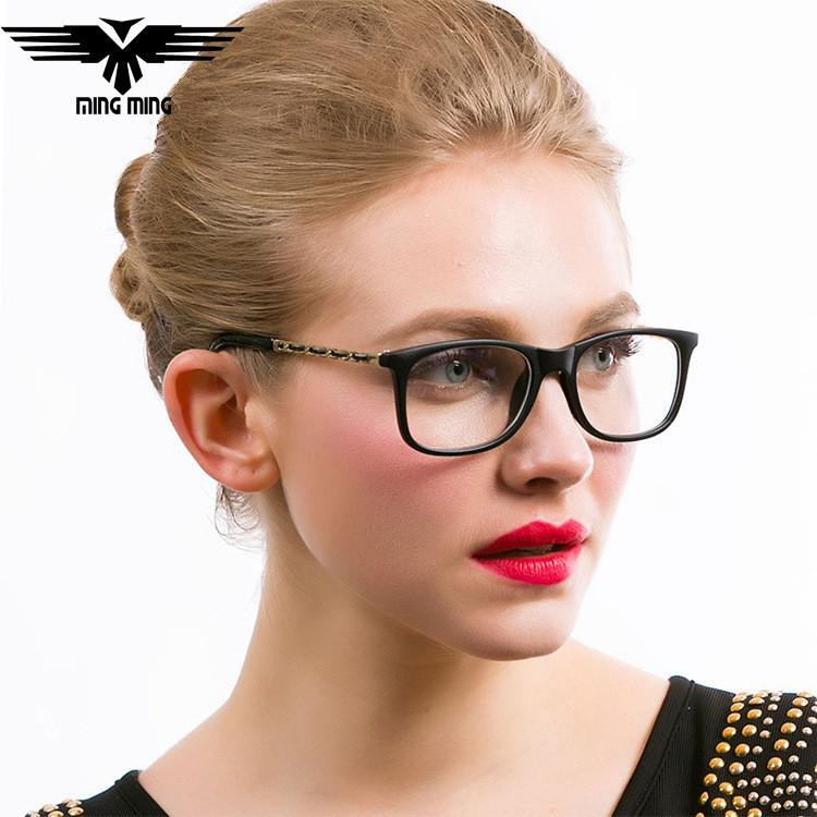 Eyeglass Frame Fashion 2017 : 2017 2015 New Retro Eyeglasses Fashion Women Myopia ...