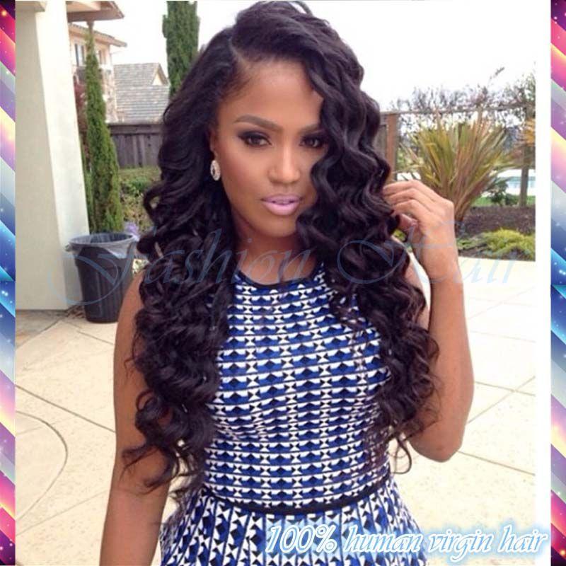 Strange Lace Front Wig Peruvian Virgin Hair Deep Wave Glueless Full Lace Short Hairstyles For Black Women Fulllsitofus