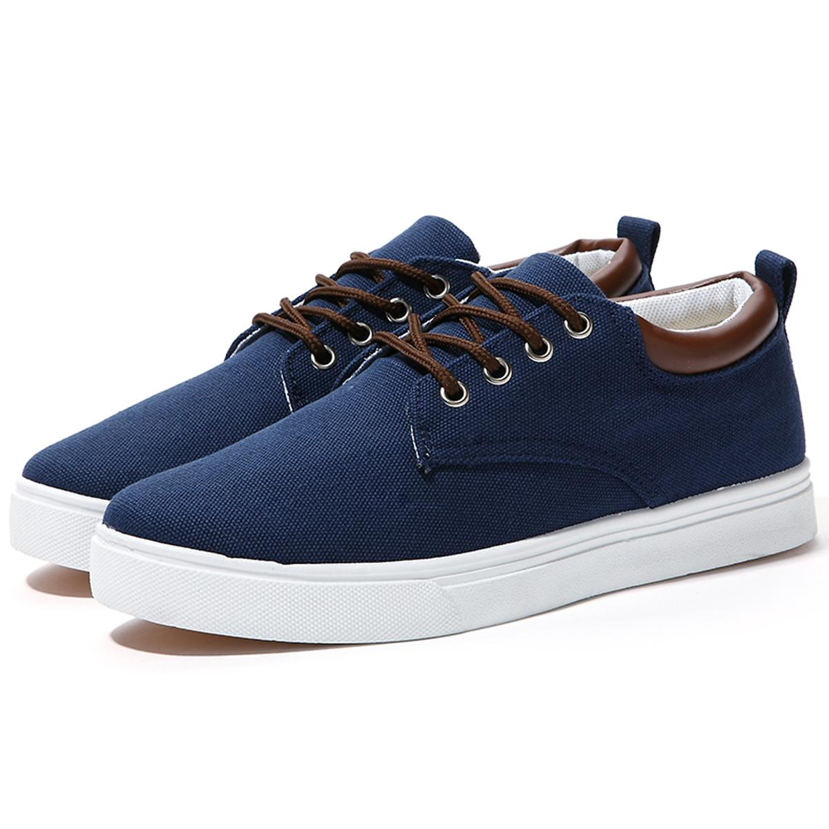 Best Elegant Stylish Canvas Shoes Sneakers Mens Skateboard Shoes ...