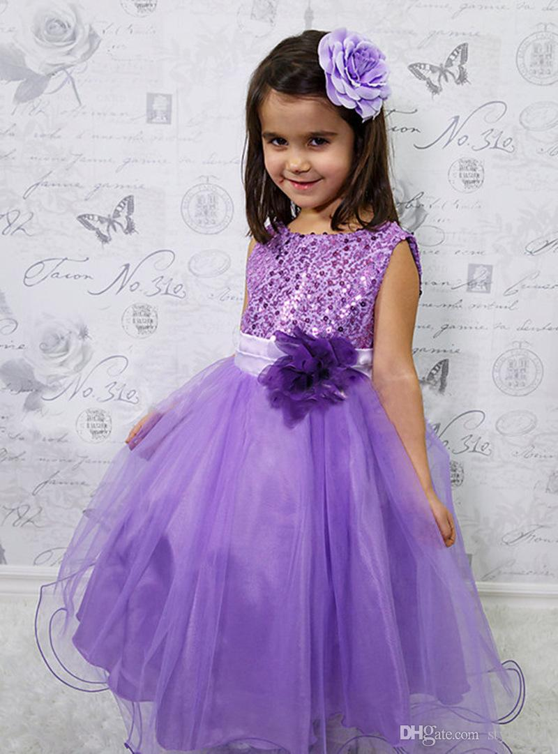 2016 Kids Wedding Dresses Pageant Party Dresses Girl
