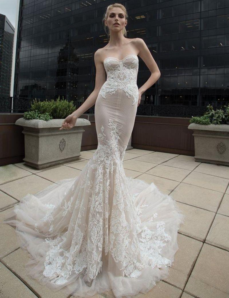 2016 ivory wedding dresses inbal dror champagne organza for Dhgate wedding dresses 2016