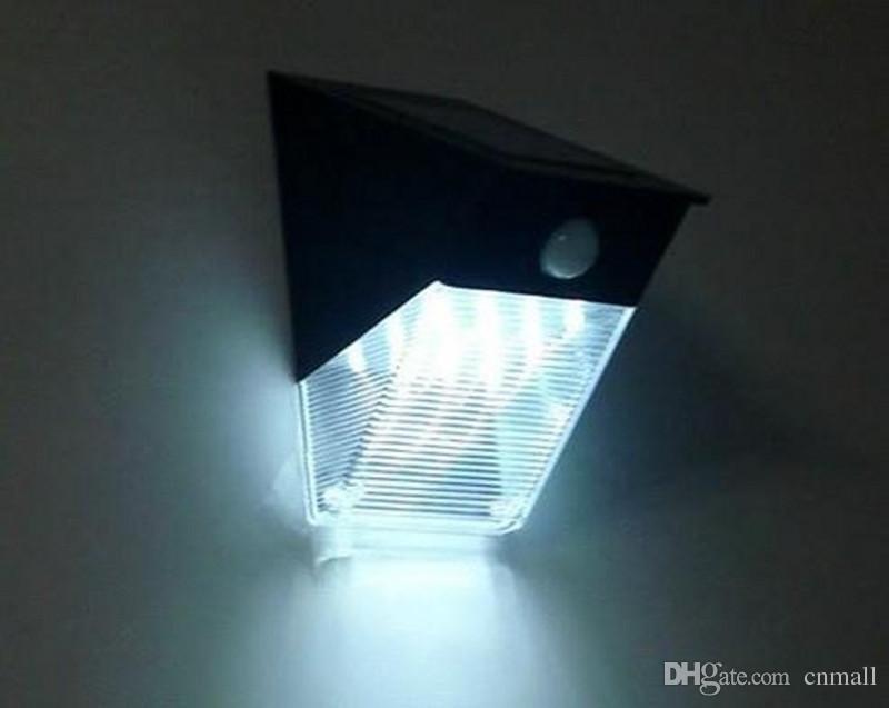 Brick Wall Solar Lights : 12 LED Outdoor Solar Wall Lamp Solar Triangle Light PIR Motion Sensor Light Garden Yard Lamp ...