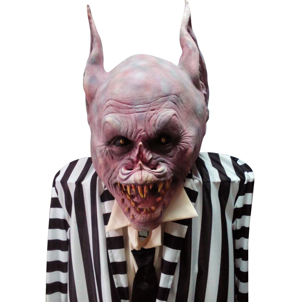 New Monster Mask Halloween Full Head All Saints' Day Mask Latex ...