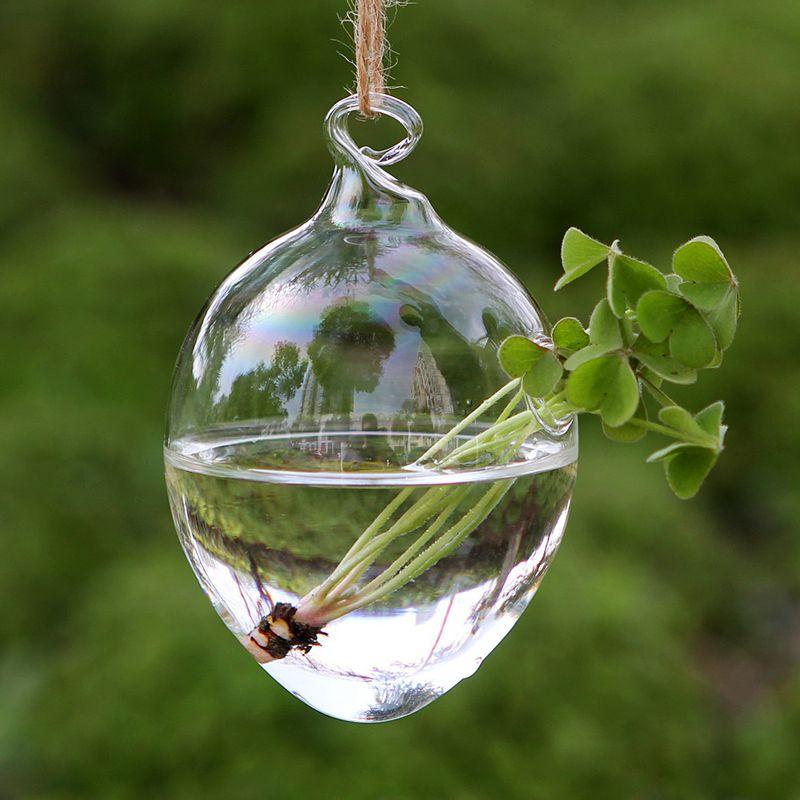 8x12cm Glass Egg Planters,water Culture Green Plants,hanging Planter Vase  for Garden Decoration,home Decor Succulent Planter Terrarium Glass Planter  Vase ...