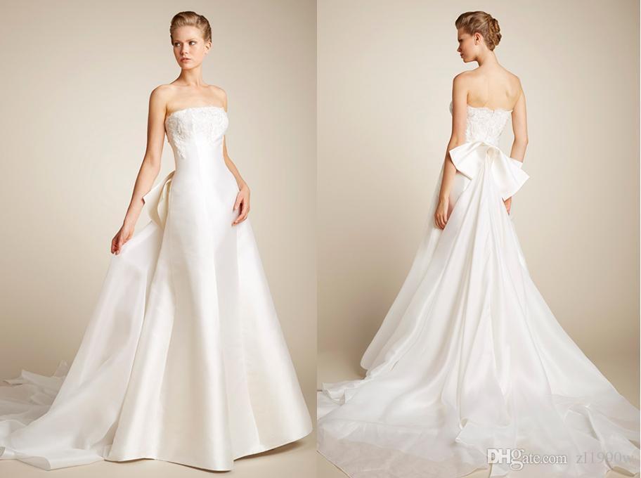 Silk Sculptural Mermaid Wedding Dress Beaded Bodice And Silk ...