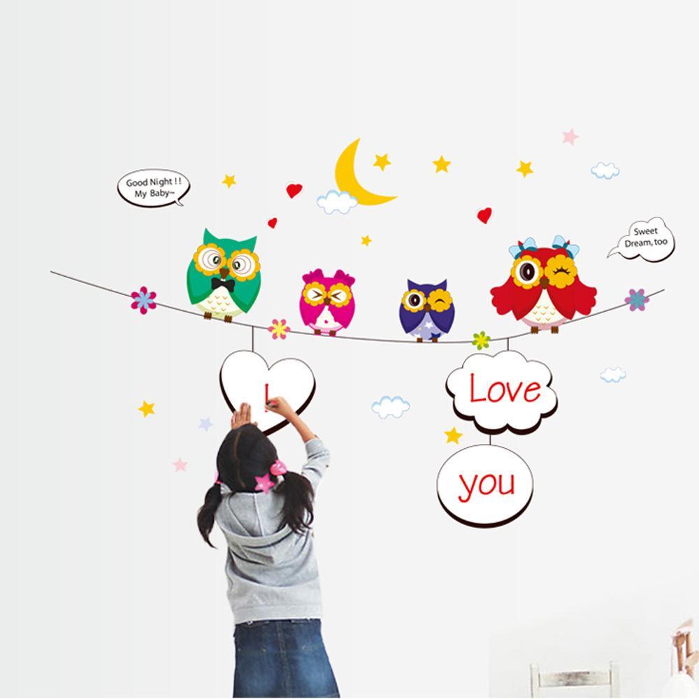 Cartoon Nursery Kid 39 S Children 39 S Room Writing Paste Wall