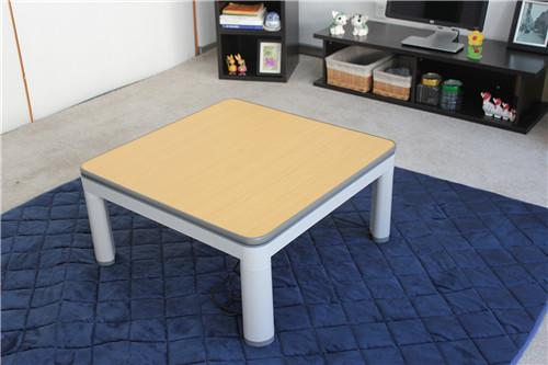 Japanese Kotatsu Foot Warmer Floor Table Low Heated Coffee Table 75cm
