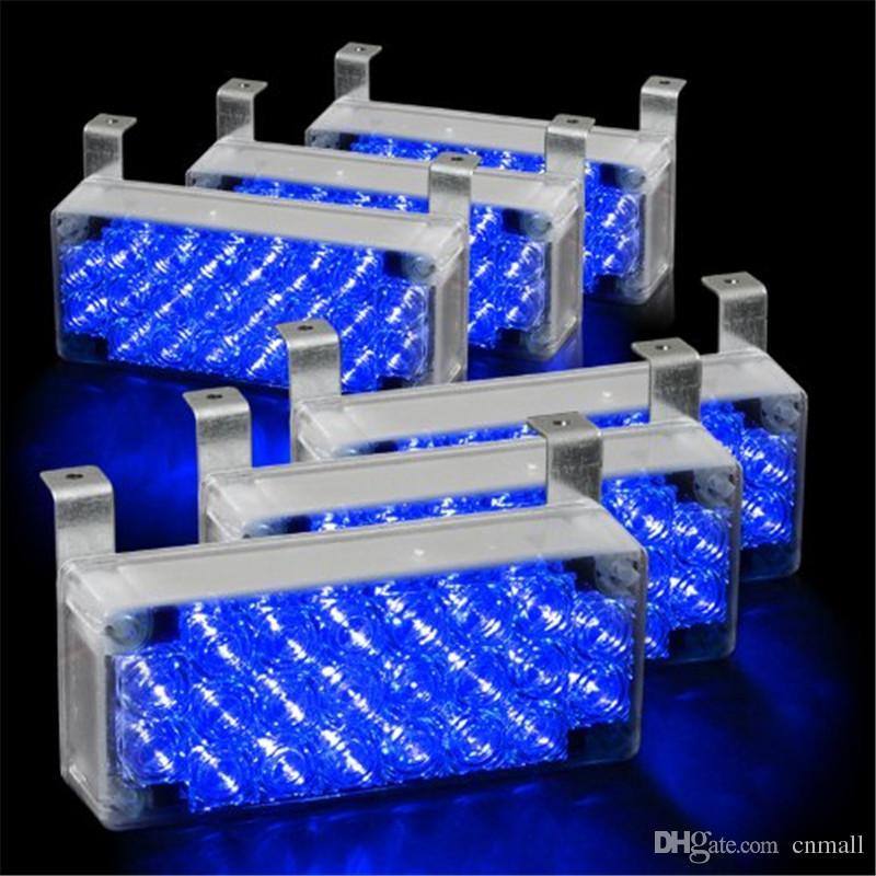 6x22 led strobe lights fire flashing warning emergency. Black Bedroom Furniture Sets. Home Design Ideas