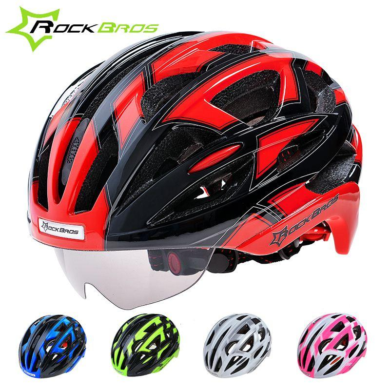 RockBros Bicycle Cycling Helmet EPS+PC Material Ultralight Mountain Bike  Helmet 32 Air Vents With 3 Lenses SIZE:56 62cm Bike Helmet Child Bike Helmet  ...