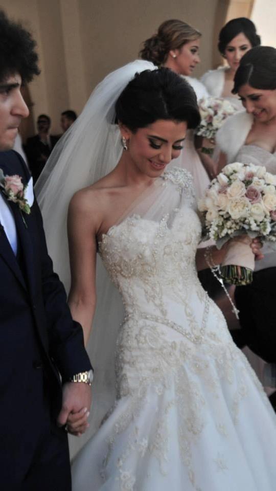 2015 steven khalil wedding dresses sleeveless one shoulder for Steven khalil wedding dresses cost