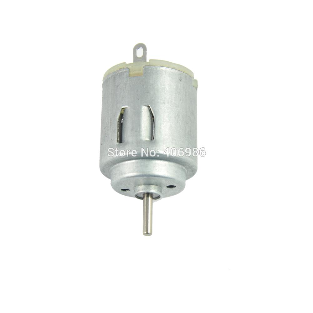 Online cheap dc 3v 6v 140 motor 2000 rpm for diy electric for Small dc fan motor