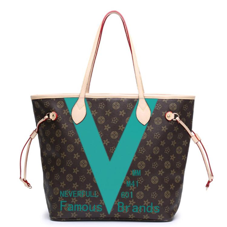 Famous Designer Bags 2015 New Handbags Luxury Brand Patent Design Mix And Match Prints M41601 M41602 Special Coated Canvas Shoulder Bag with Online with