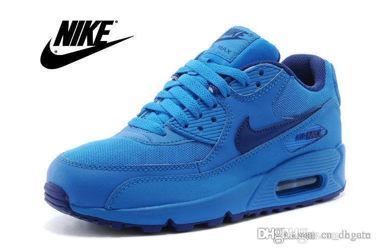 ... nike air max 90 gs photo blue men ...