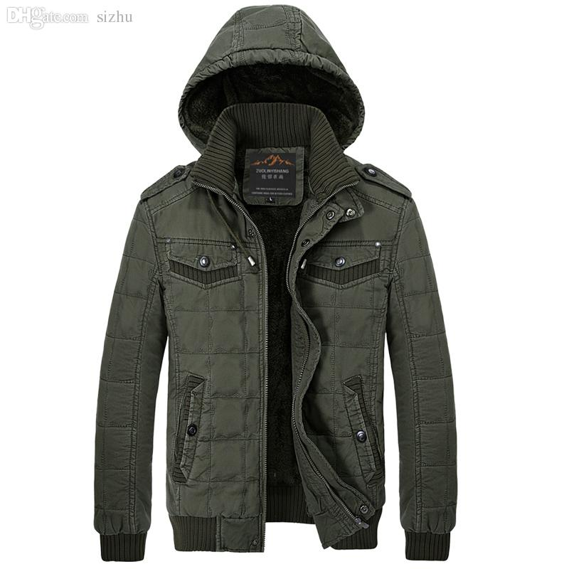 Fall-Good Quality Outdoor Winter Army Male Coat Military Mens ...