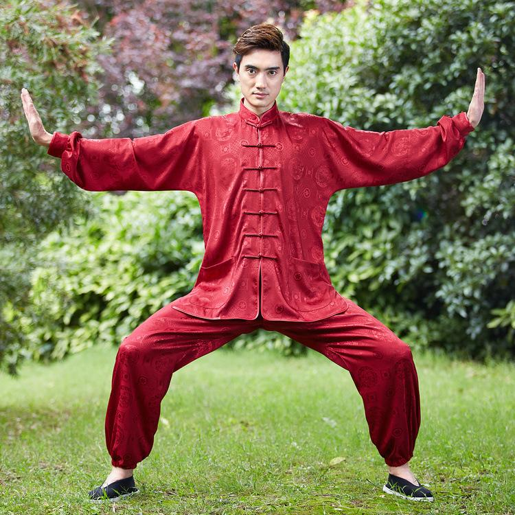 2017 traditional chinese clothing men kung fu clothing