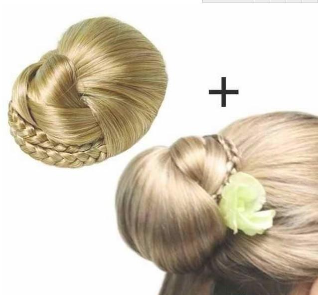 Bun Hair Pieces For Wedding Hair Pieces Buns Blonde