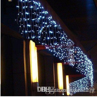 Purple And White Christmas Lights