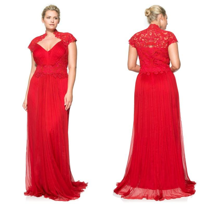 Red Plus Size Dresses Special Occasions Homecoming Party Dresses