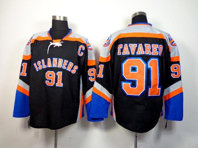 91 john tavares jersey black hockey jerseys cool sports team