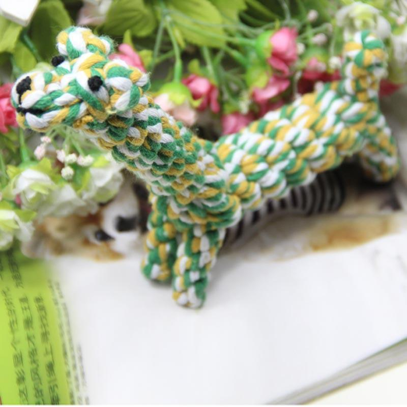High Quality Funny Cotton Cute Giraffe Pet Dogs Cats Toys Friend ...